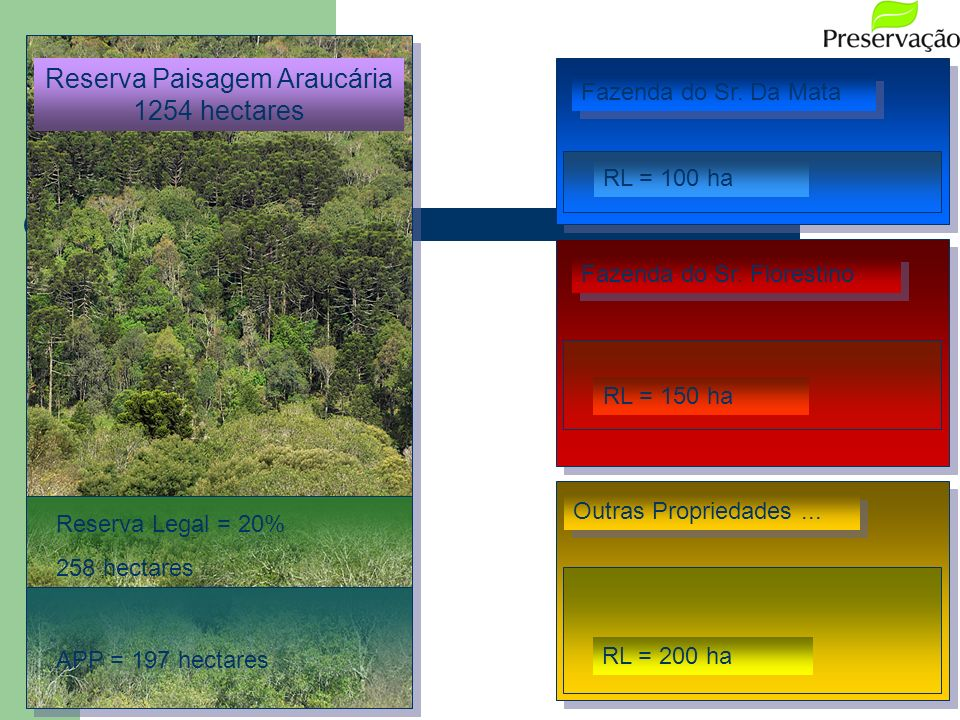 Reserva Paisagem Araucária 1254 hectares