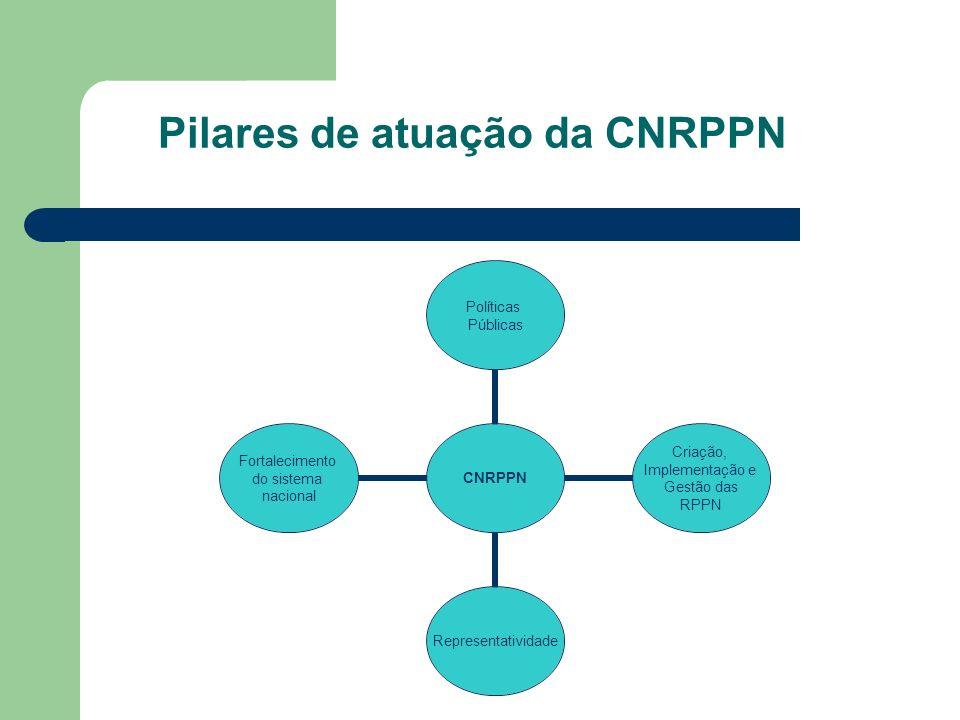 Pilares de atuação da CNRPPN