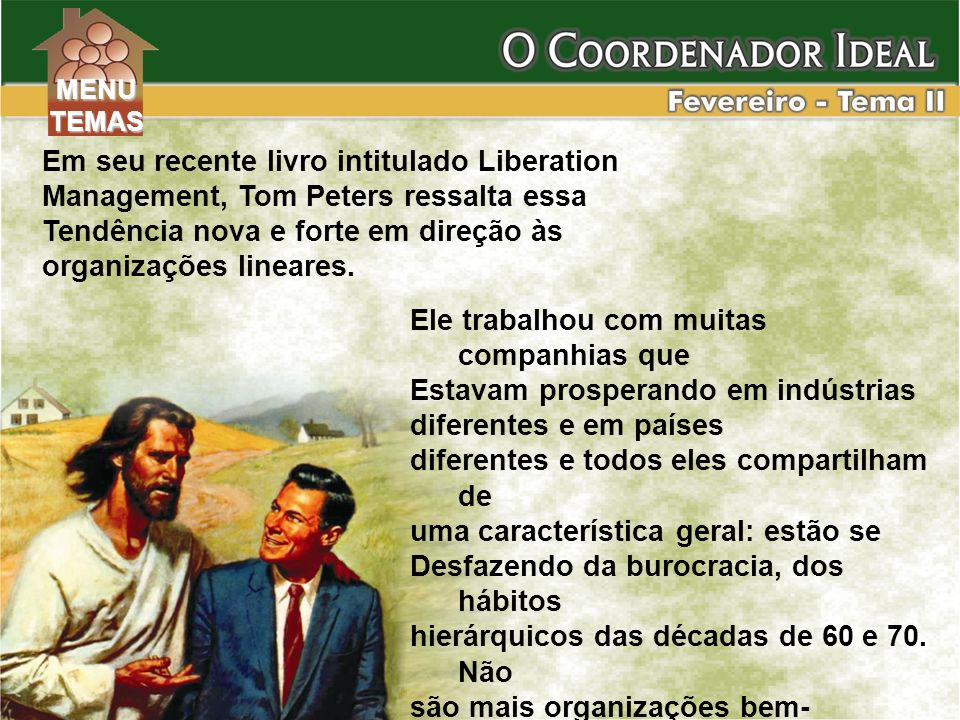 Em seu recente livro intitulado Liberation