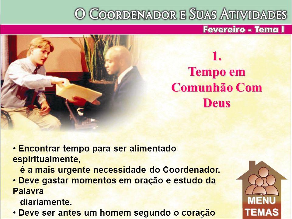 Tempo em Comunhão Com Deus