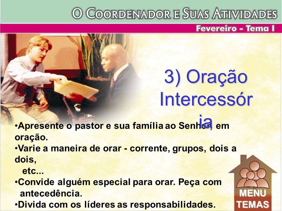 3) Oração Intercessória