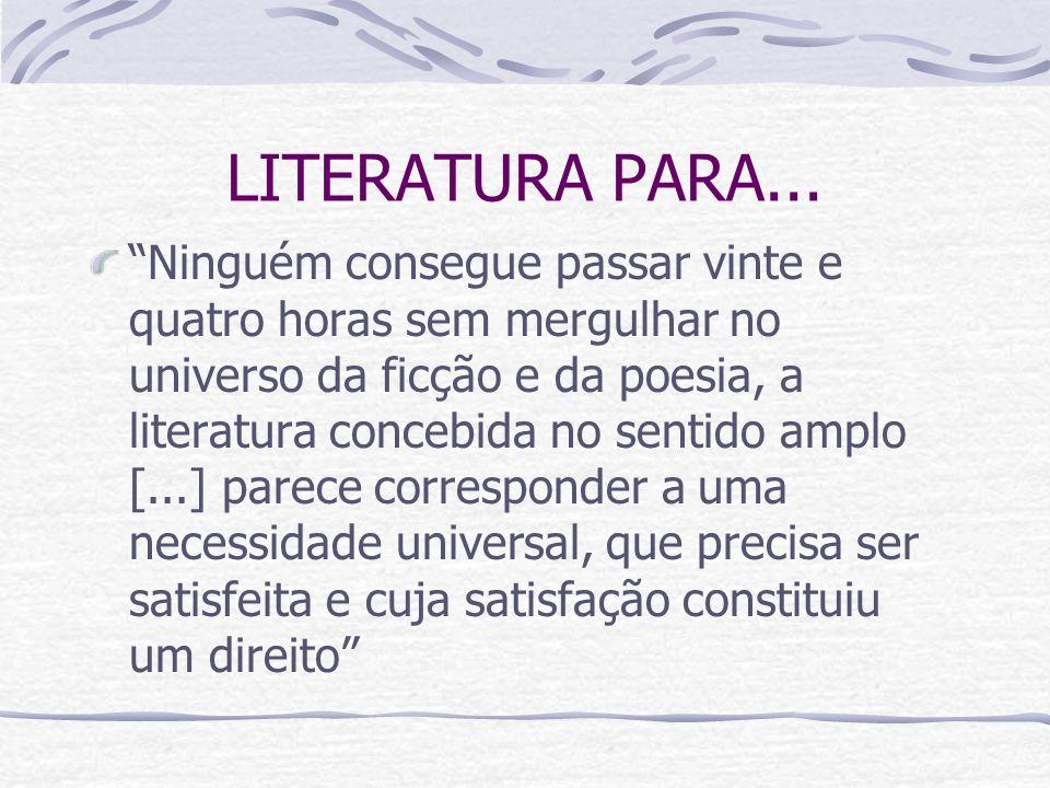 LITERATURA PARA...