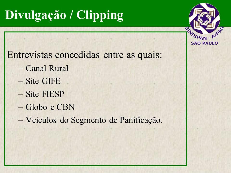 Divulgação / Clipping Entrevistas concedidas entre as quais: