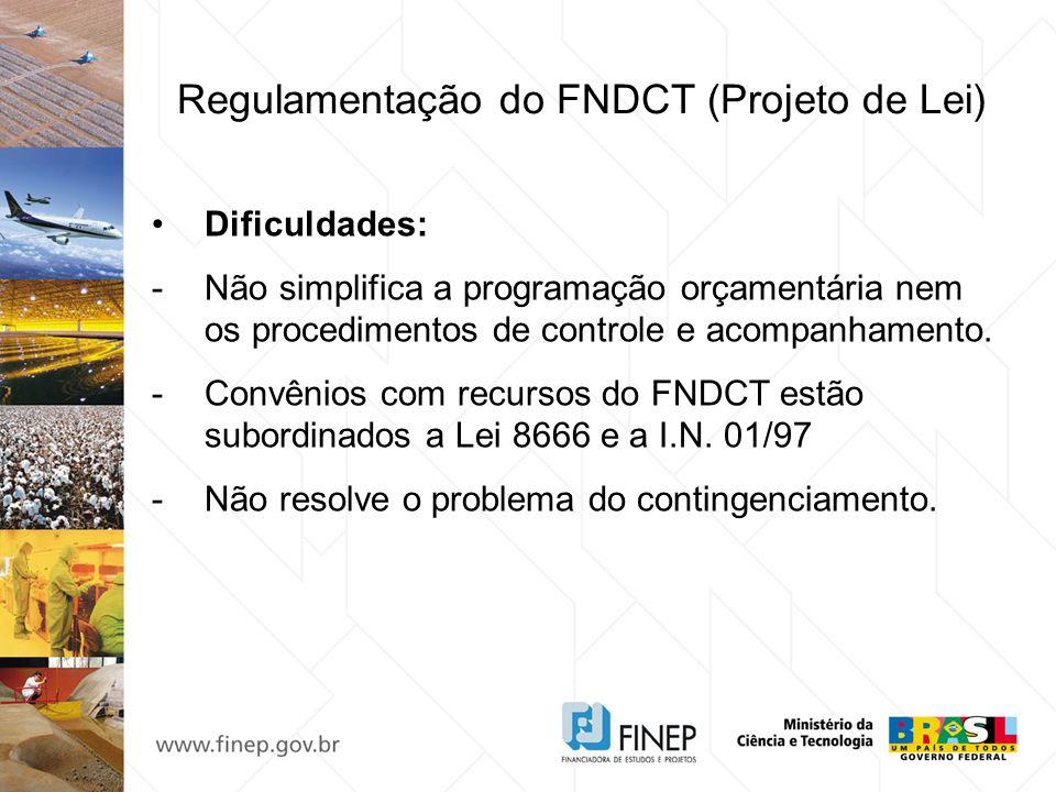 Regulamentação do FNDCT (Projeto de Lei)