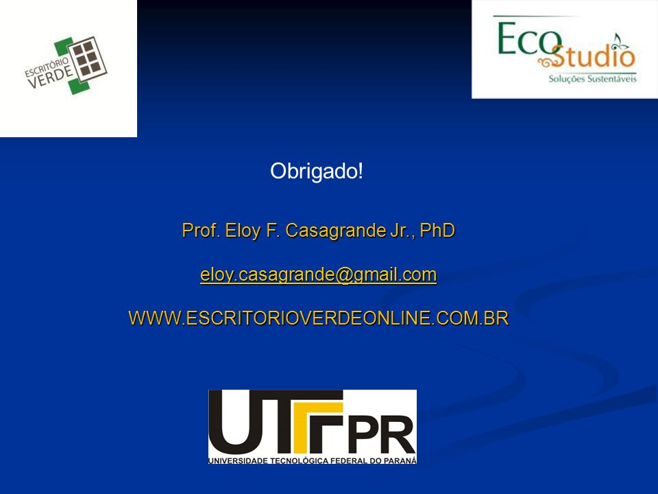 Prof. Eloy F. Casagrande Jr., PhD