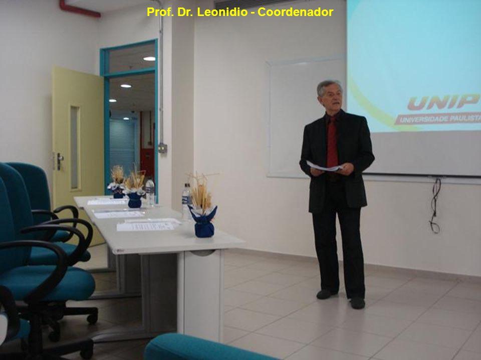 Prof. Dr. Leonidio - Coordenador