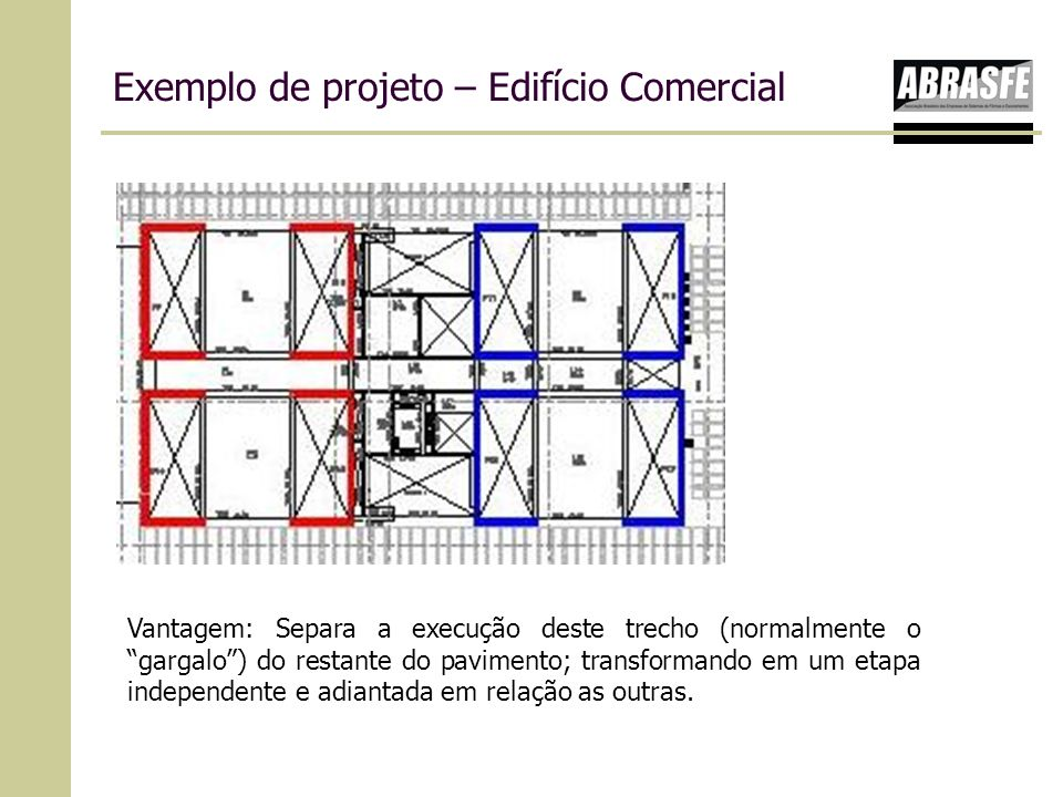Exemplo de projeto – Edifício Comercial