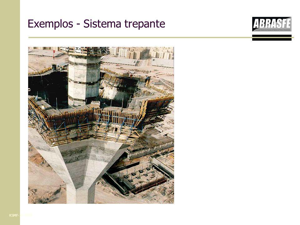 Exemplos - Sistema trepante