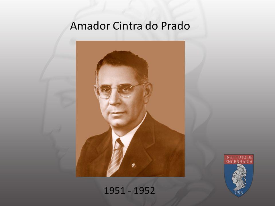 Amador Cintra do Prado 1951 - 1952
