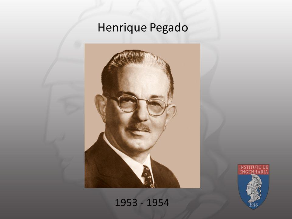 Henrique Pegado 1953 - 1954