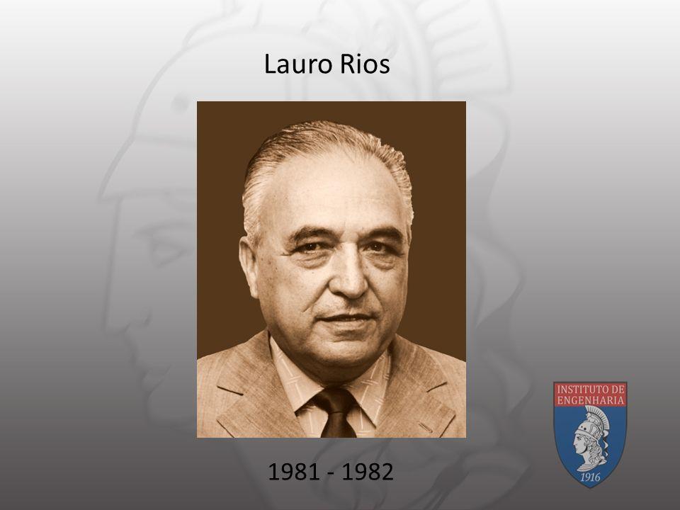 Lauro Rios 1981 - 1982