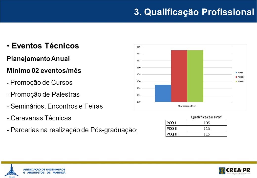 3. Qualificação Profissional