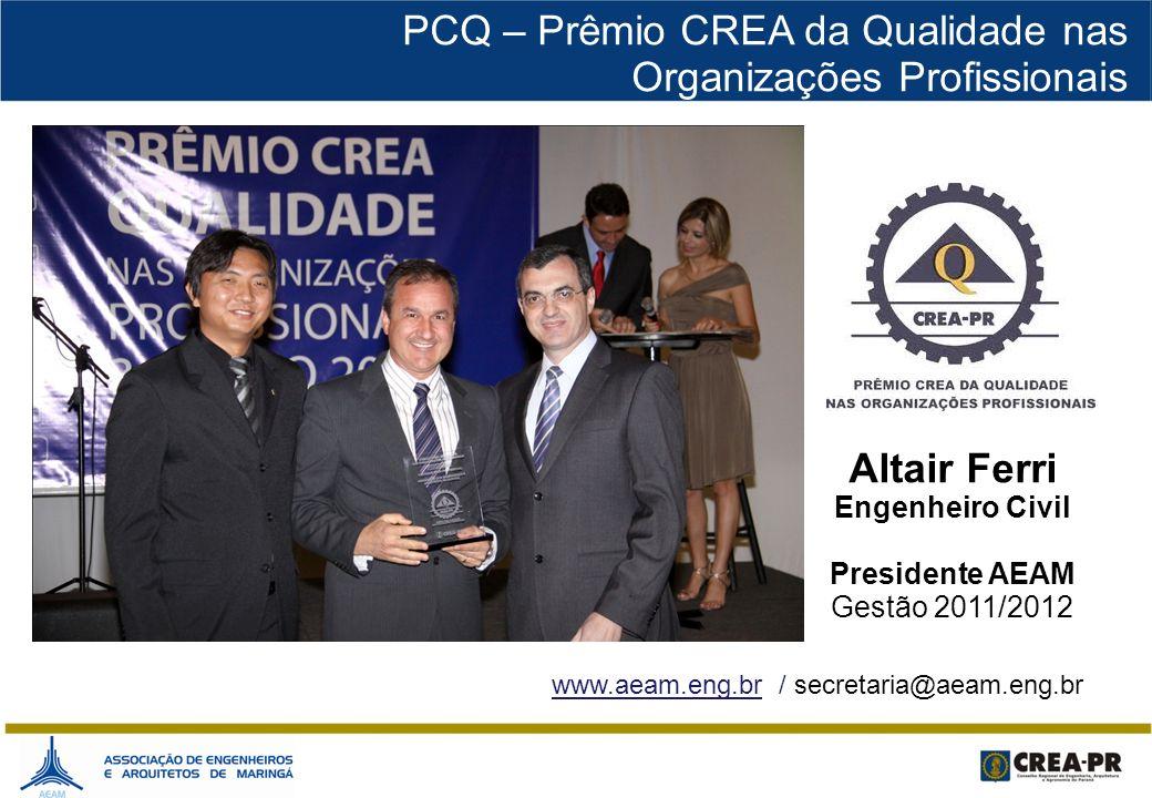 www.aeam.eng.br / secretaria@aeam.eng.br