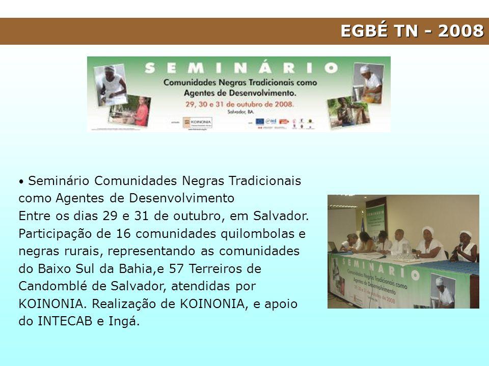 EGBÉ TN - 2008