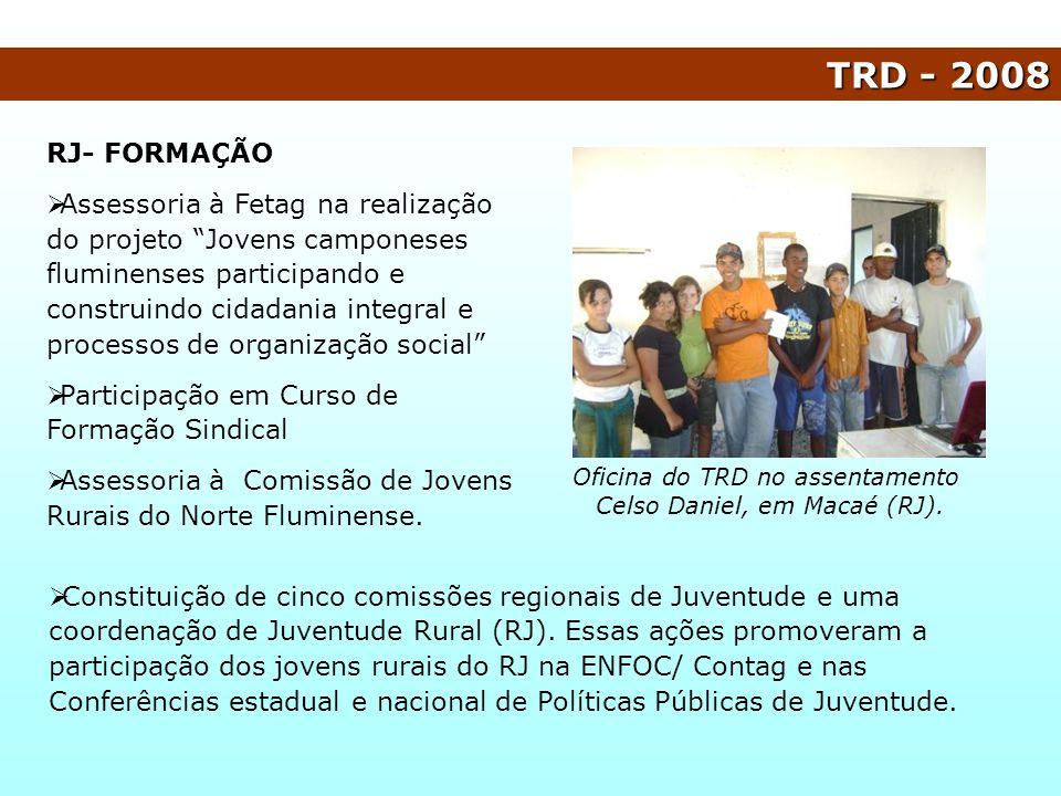 TRD - 2008 RJ- FORMAÇÃO.