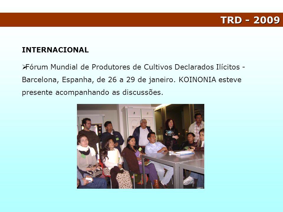TRD - 2009 INTERNACIONAL.