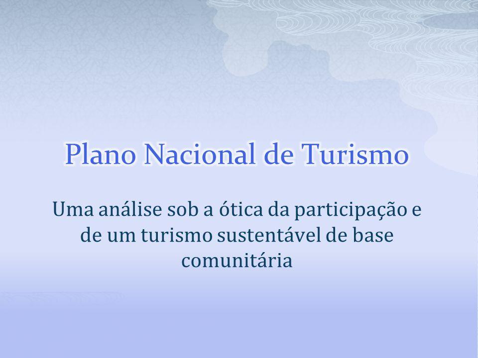 Plano Nacional de Turismo