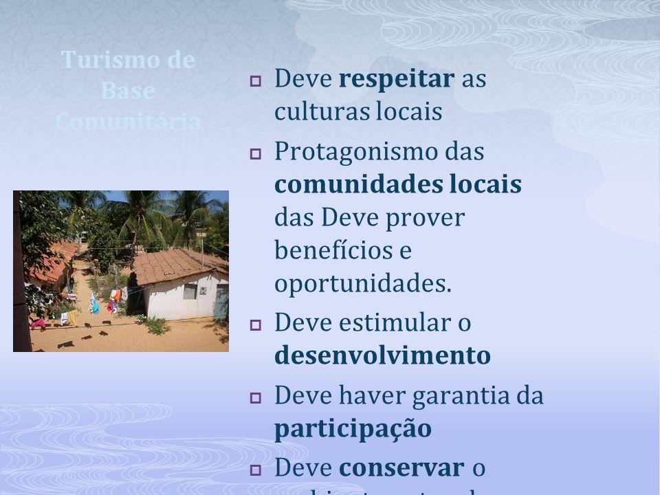 Turismo de Base Comunitária