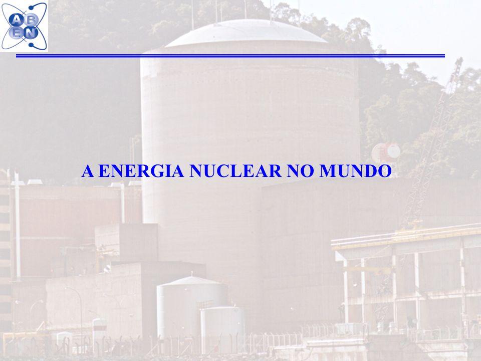 A ENERGIA NUCLEAR NO MUNDO