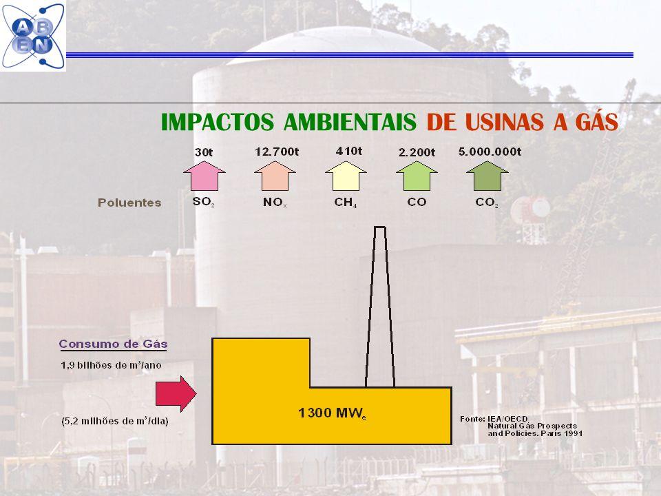 IMPACTOS AMBIENTAIS DE USINAS A GÁS