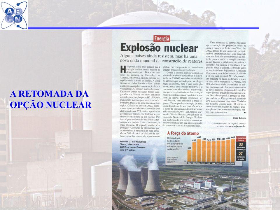 A RETOMADA DA OPÇÃO NUCLEAR