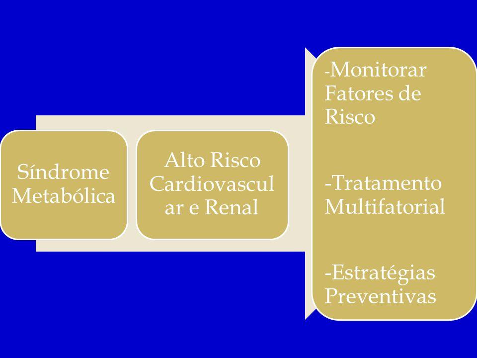 Alto Risco Cardiovascular e Renal