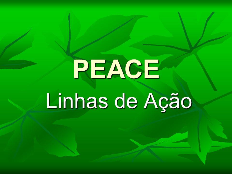 PEACE Linhas de Ação