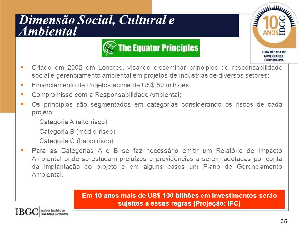 Dimensão Social, Cultural e Ambiental