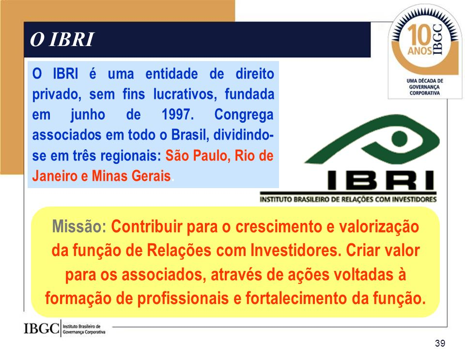 O IBRI