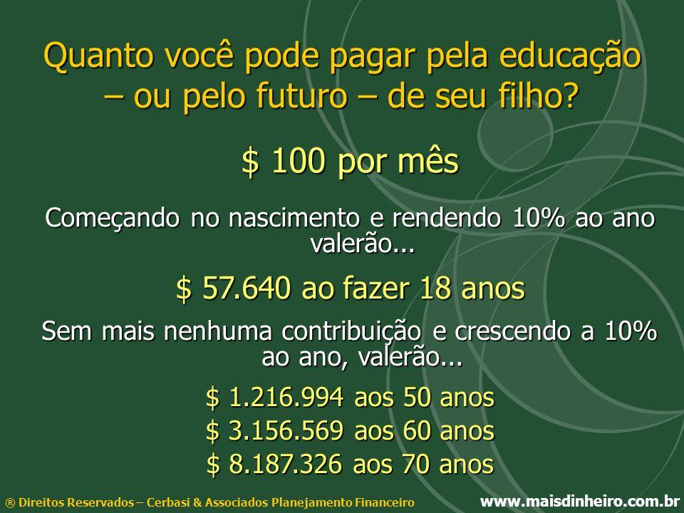 Quanto você pode pagar pela educação – ou pelo futuro – de seu filho