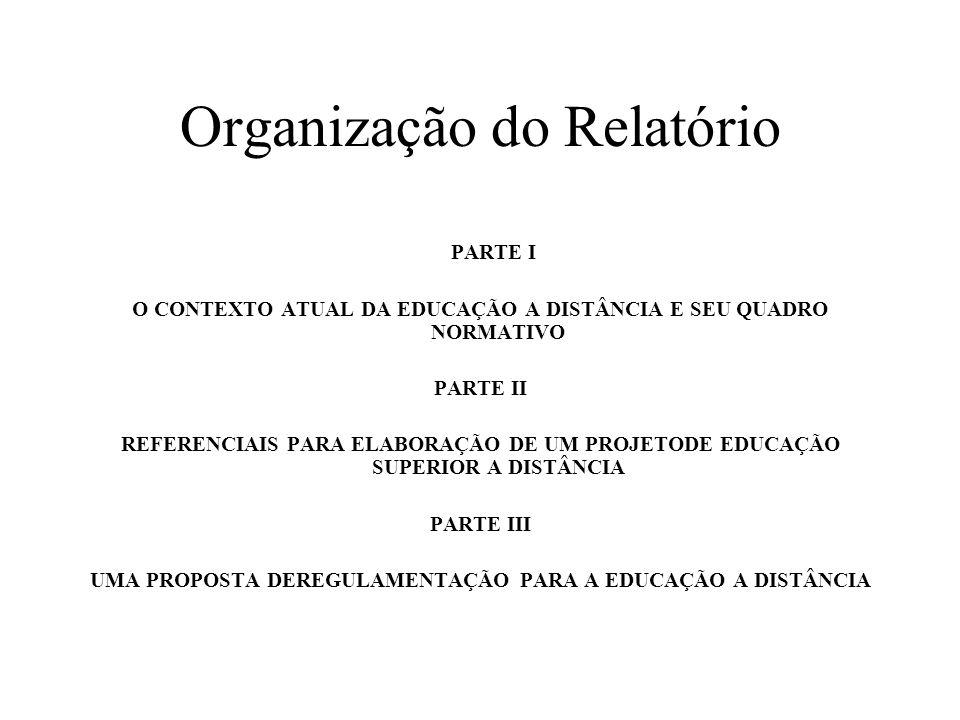 Organização do Relatório