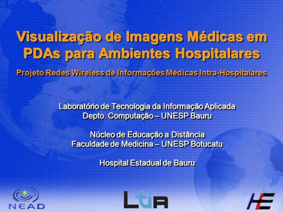 Visualização de Imagens Médicas em PDAs para Ambientes Hospitalares Projeto Redes Wireless de Informações Médicas Intra-Hospitalares