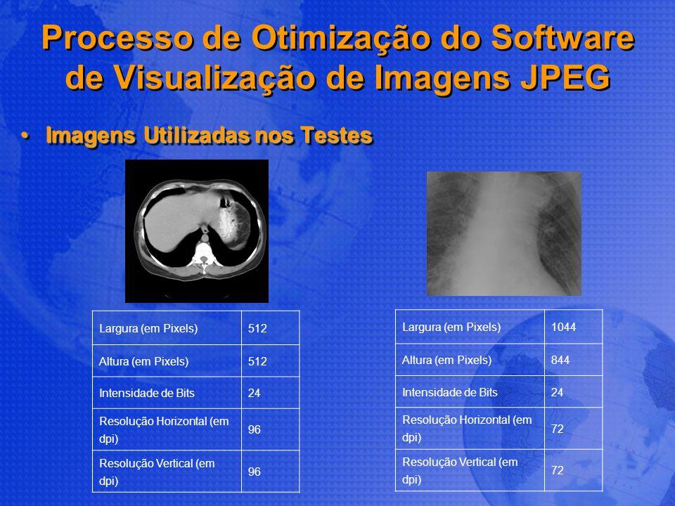 Processo de Otimização do Software de Visualização de Imagens JPEG