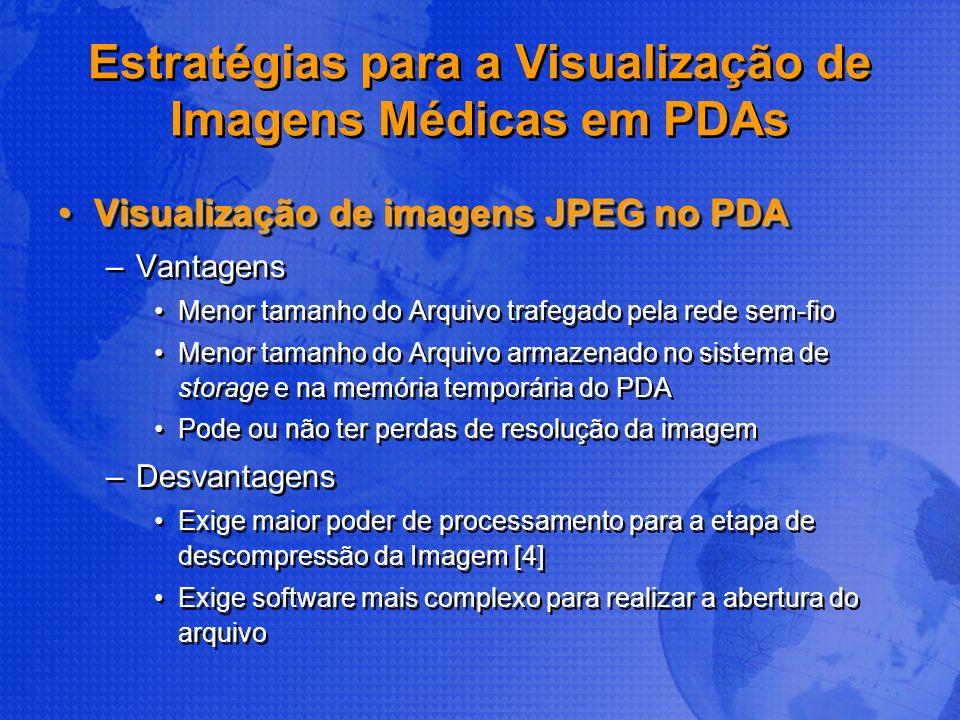 Estratégias para a Visualização de Imagens Médicas em PDAs