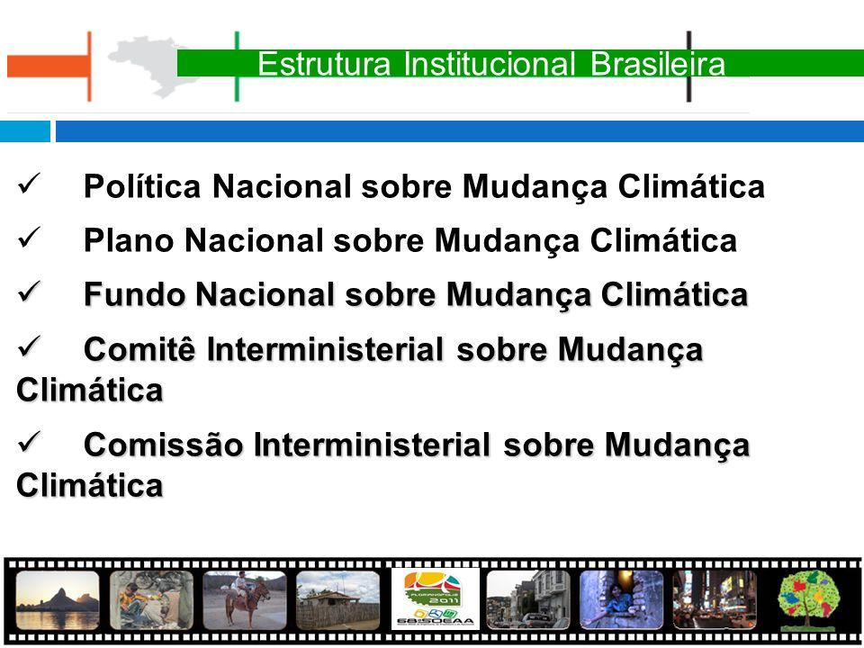 Estrutura Institucional Brasileira