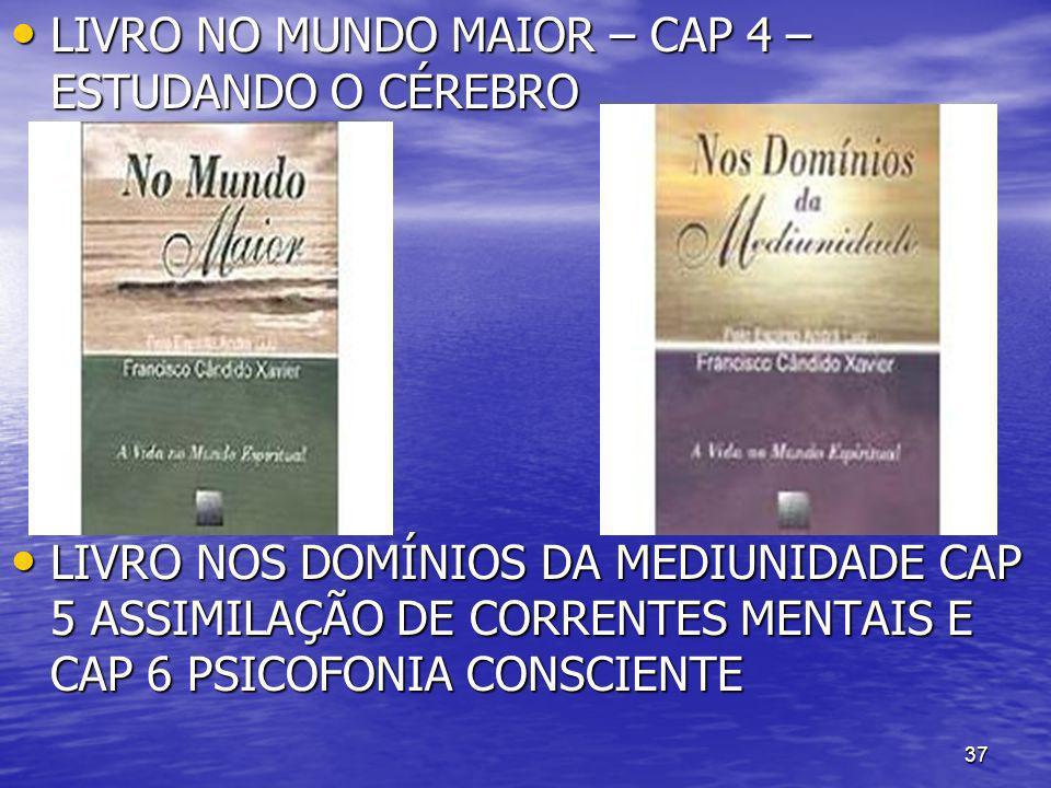 LIVRO NO MUNDO MAIOR – CAP 4 – ESTUDANDO O CÉREBRO
