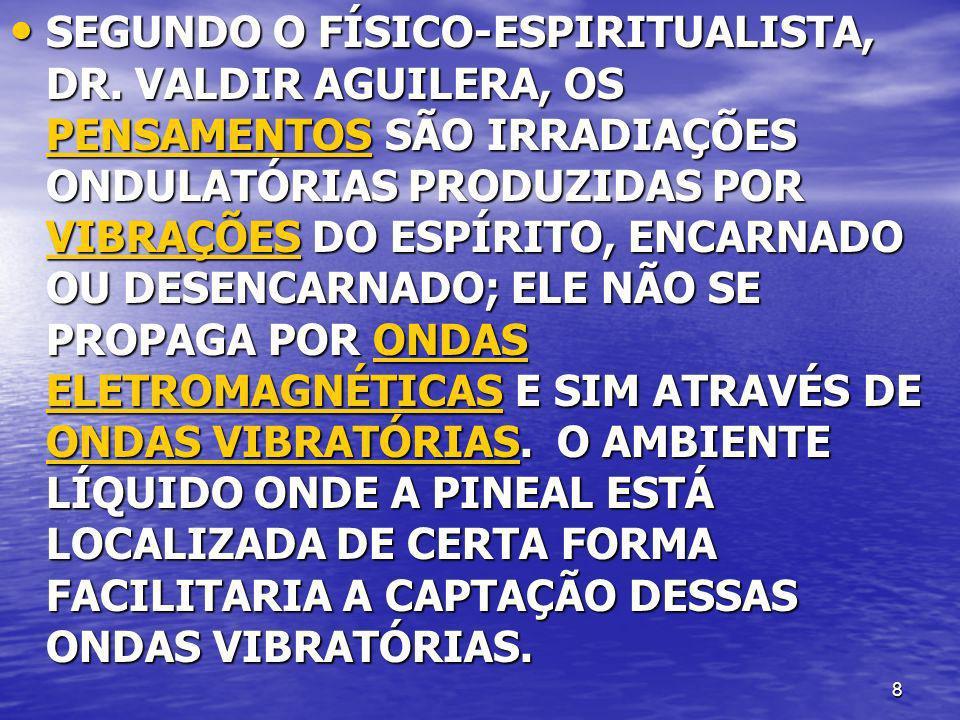 SEGUNDO O FÍSICO-ESPIRITUALISTA, DR