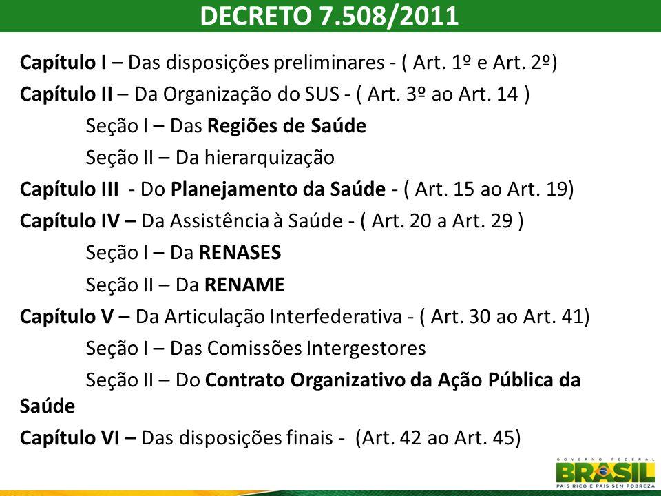DECRETO 7.508/2011