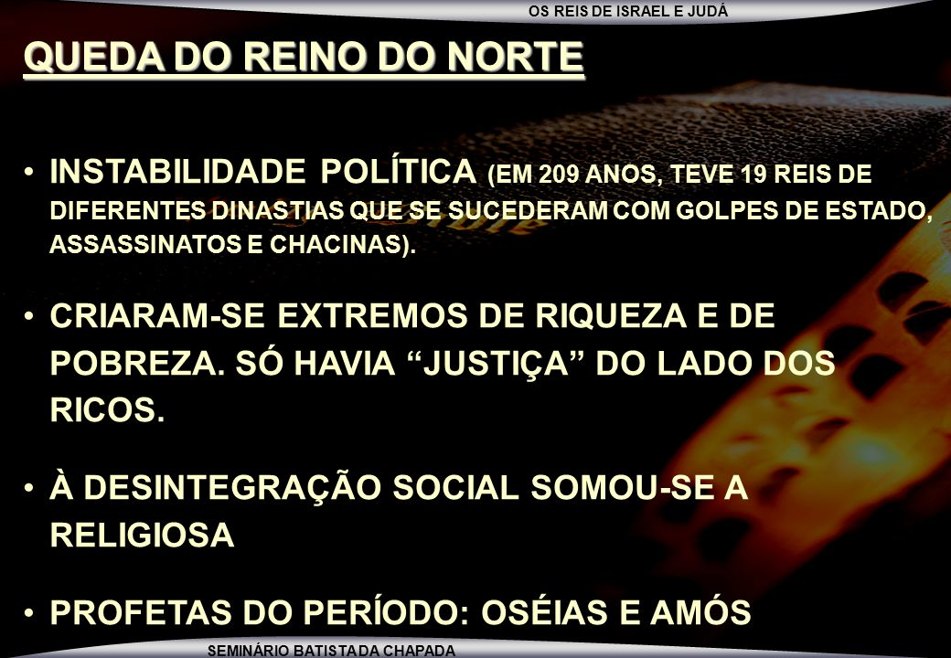 QUEDA DO REINO DO NORTE