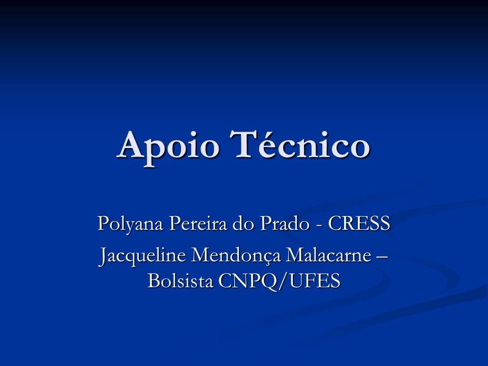Apoio Técnico Polyana Pereira do Prado - CRESS