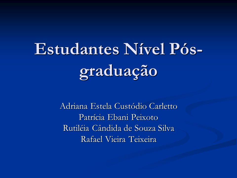 Estudantes Nível Pós-graduação