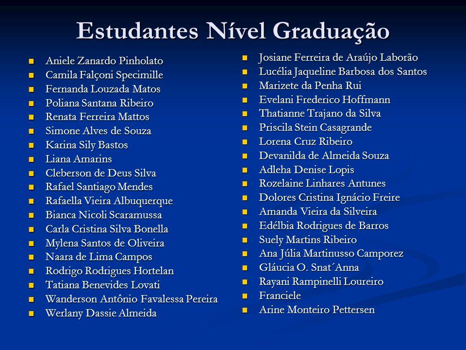 Estudantes Nível Graduação