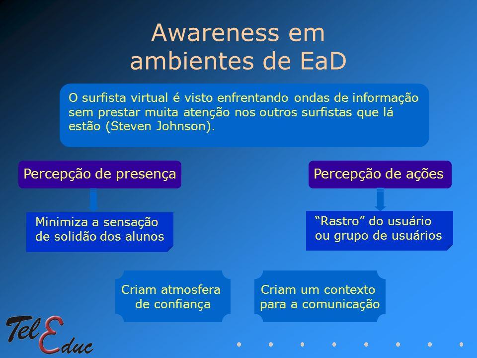 Awareness em ambientes de EaD