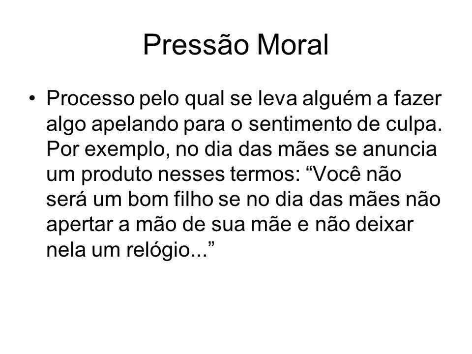 Pressão Moral