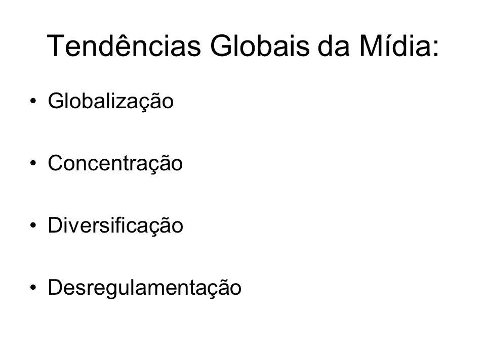 Tendências Globais da Mídia:
