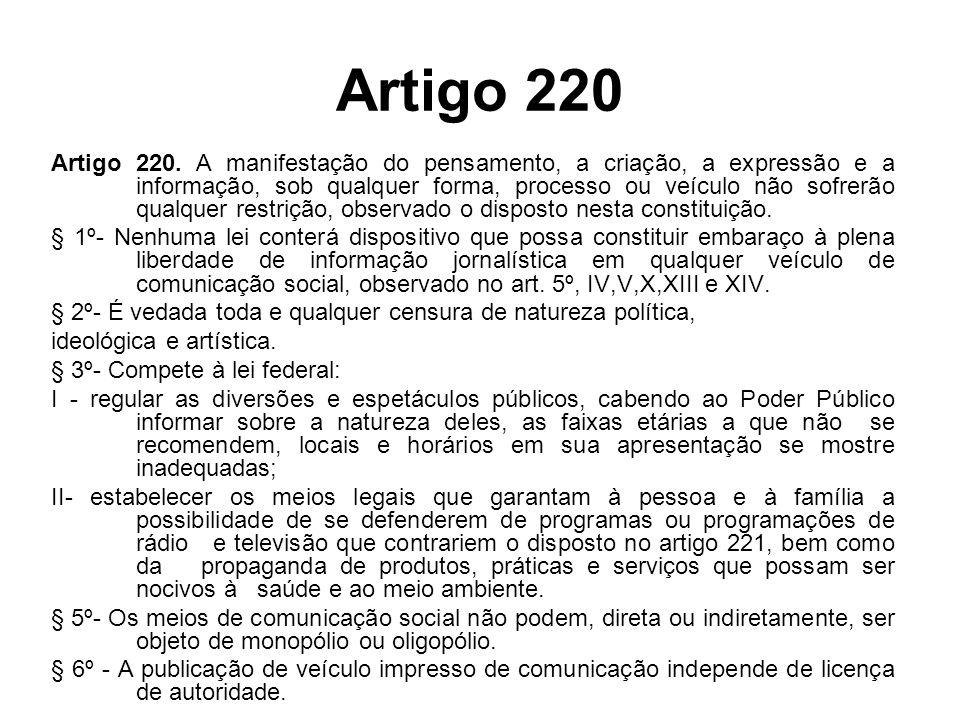 Artigo 220