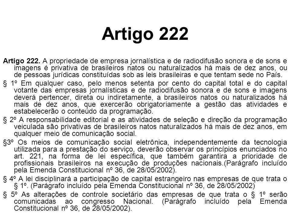 Artigo 222