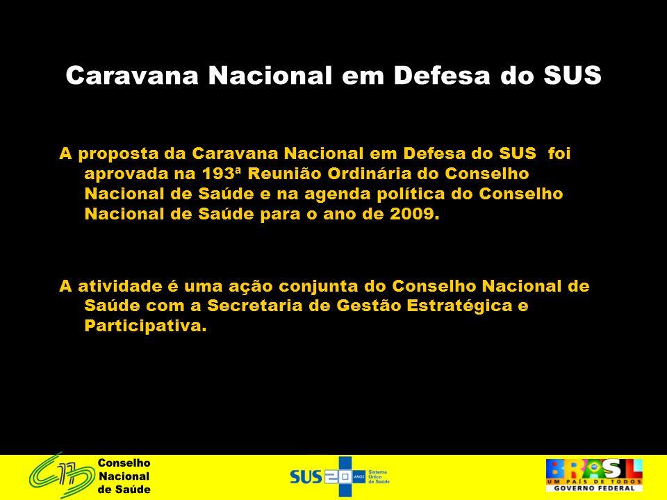 Caravana Nacional em Defesa do SUS
