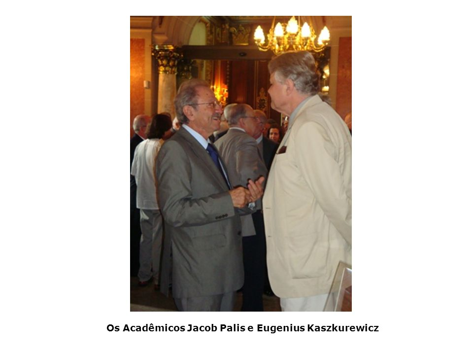 Os Acadêmicos Jacob Palis e Eugenius Kaszkurewicz
