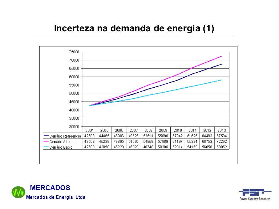 Incerteza na demanda de energia (1)
